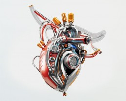 mechanical robotic heart cgi